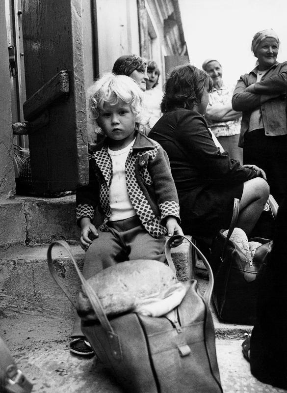 """Jerzy Piątek, """"Smutek i urok prowincji"""", koniec lat 70. i 1 poł. lat 80. XX w. (źródło: materiały prasowe organizatora)"""