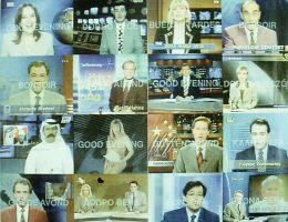 """Apsolutno, """"Good Evening"""", 1996, plakat do filmu, dzięki uprzejmości Apsolutno (źródło: materiały prasowe organizatora)"""