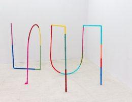 """Alicja Bielawska, """"Ćwiczenia na dwie linie"""", 2014 ,fot. Bartosz Górka (źródło: materiały prasowe organizatora)"""