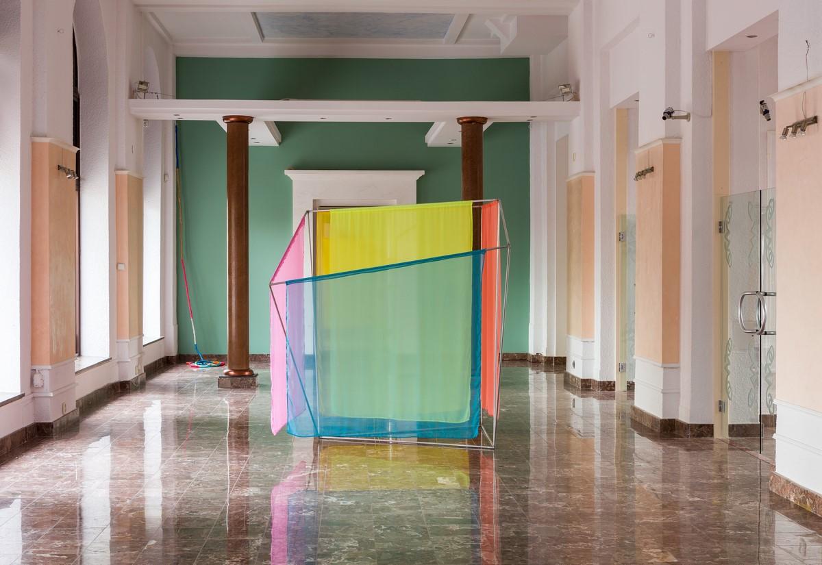 """Alicja Bielawska, """"Nie ma stałych punktów w przestrzeni"""", 2016, fot. Frederik Gruyaert (źródło: materiały prasowe organizatora)"""