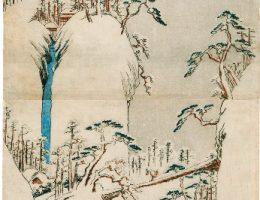 "Utagawa Hiroshige ""Fujigawa w śniegu"" (źródło: materiały prasowe organizatora)"