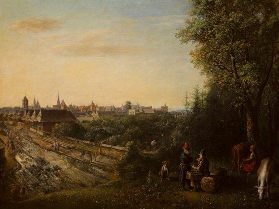"""Gottfried Libalt, """"Widok Krakowa"""", 1652, olej na płótnie, Muzeum Narodowe w Krakowie (źródło: materiały prasowe organizatora)"""