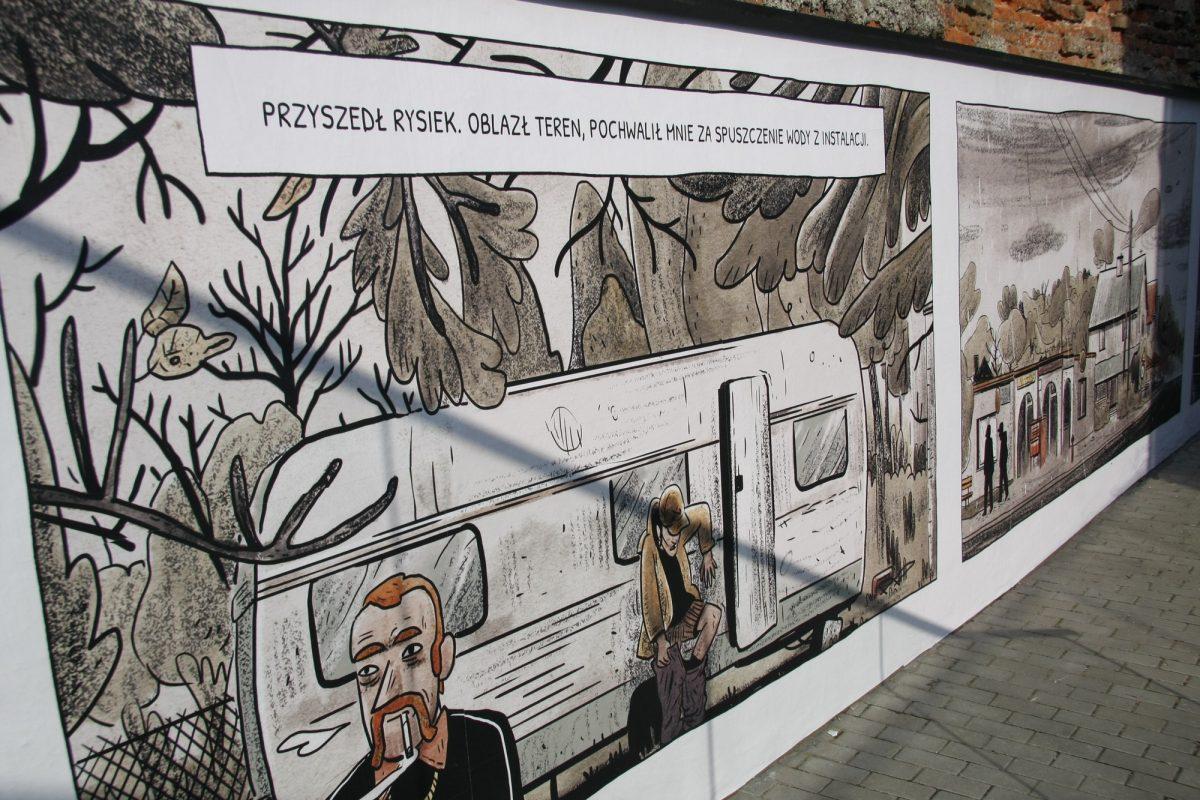 """Marcin Podolec, """"Morze po kolana"""", Mazowieckie Centrum Sztuki Współczesnej Elektrownia w Radomiu (źródło: materiały prasowe)"""