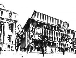 Modernizacja i rozbudowa gmachu ASP w Warszawie, Wybrzeże Kościuszkowskie, 2014