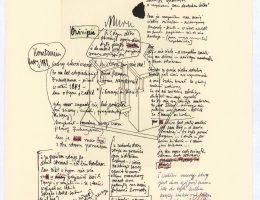 """Eugeniusz Get Stankiewicz, Tadeusz Różewicz, """"Kody (koty) genetyczne"""", z cyklu """"Zabawy przyjemne i pożyteczne"""", miedzioryt, 2006 (źródło: materiały prasowe organizatora)"""