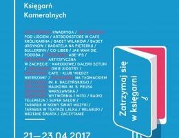 2. Weekend Księgarń Kameralnych – plakat (źródło: materiały prasowe)