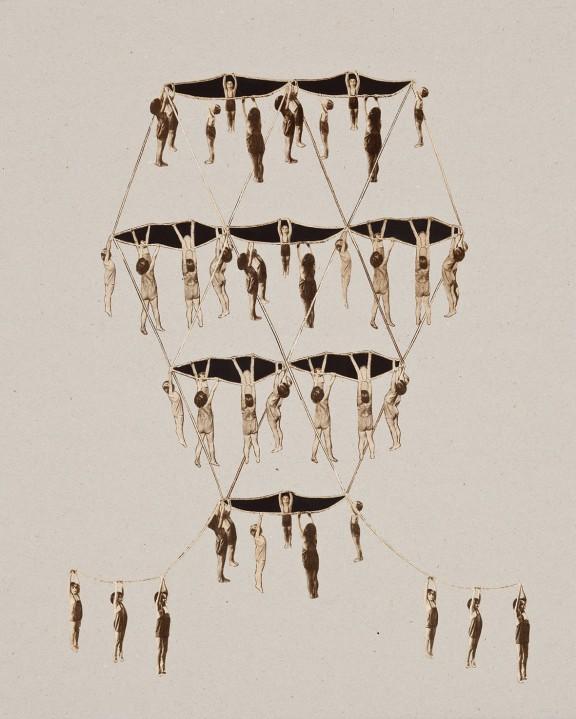 """Patrycja Orzechowska, """"KINDERTURNEN (Gimnastyka dziecięca)"""", dzięki uprzejmości artystki (źródło: materiały prasowe organizatora)"""