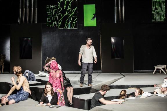 """Panna Nikt"", reż. Paweł Passini (źródło: materiały prasowe teatru)"