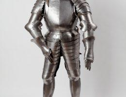 Zbroja turniejowa, Augsburg (Bawaria), XVIXVII w., w zbiorach Muzeum Historyczne Miasta Krakowa (źródło: materiały prasowe organizatora)