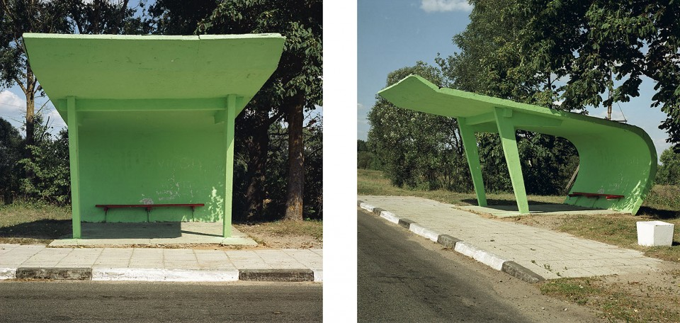 "Nicolas Grospierre, ""Lithuanian Bus Stops"" (źródło: materiały prasowe organizatora)"