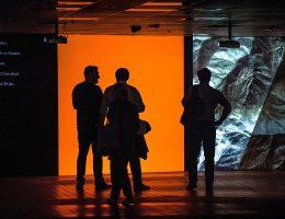 """Aleksander Komarov i Maxim Tyminko, """"Kamuflaż"""" – wystawa WRO Art Center i Griffin Art Space (źródło: materiały prasowe organizatora)"""