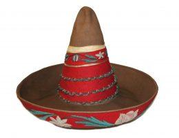 Sombrero męskie stanowiące część stroju meksykańskiego, 1. tercja XX wieku (źródło: materiały prasowe organizatora)