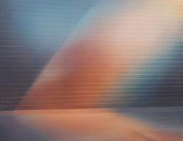 """Marta Kawiorska, """"Refleksje I"""", 2016, olej na płótnie, 140x110 cm (źródło: materiały prasowe organizatora)"""
