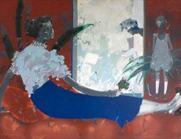 """Zbysław Marek Maciejewski, """"Moja Matak"""", 1977, tempera, akryl na płótnie (źródło: materiały prasowe organizatora)"""