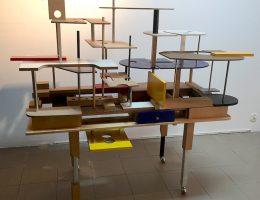 """Marek Wagner, """"Struktura biurka architektonicznego"""" (źródło: materiały prasowe organizatora)"""