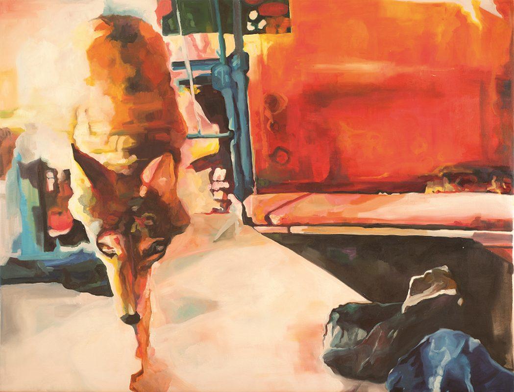 """Bettina Pradella, """"W poszukiwaniu przestrzeni"""", 2010 (źródło: materiały prasowe organizatora)"""