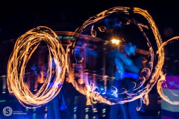 Noc Ognia. 40. Europejska Konwencja Żonglerska (źródło: materiały prasowe organizatora)