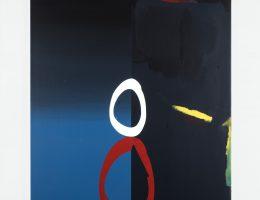 "Robert Šalanda, ""Rysa"", 2016, akryl / płótno, 160 x 110 cm (źródło: materiały prasowe organizatora)"