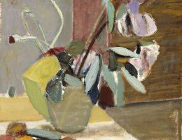 """Artur Nacht-Samborski, """"Martwa natura ze storczykiem"""", 1948, Muzeum Narodowe w Poznaniu (źródło: materiały prasowe organizatora)"""