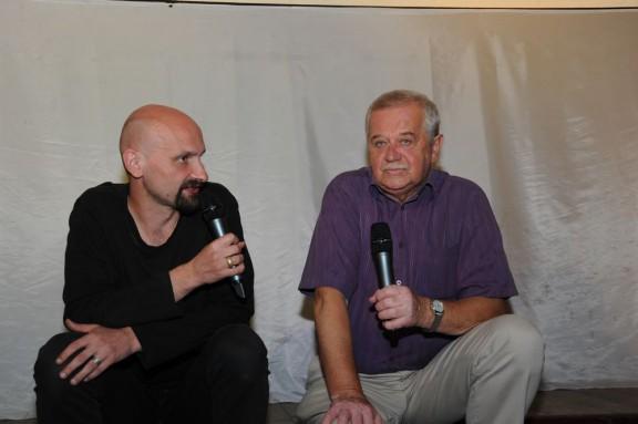 Spotkanie autorskie – Marian Dziędziel i Wojtek Kałużyński (źródło: materiały prasowe organizatora)