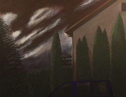 """Jarosław Modzelewski, """"Balkon"""", 136x160, 2015 (źródło: materiały prasowe organizatora)"""