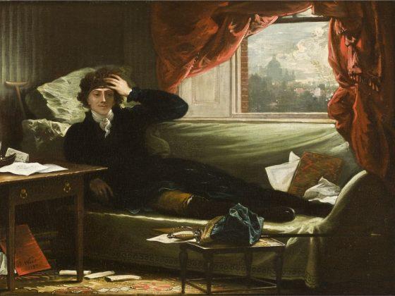"""""""Portret Tadeusza Kościuszki"""", wyk. Benjamin West, 1797, olej, płótno, wł. Allen Memorial Art Museum w Oberlin (źródło: materiały prasowe organizatora)"""