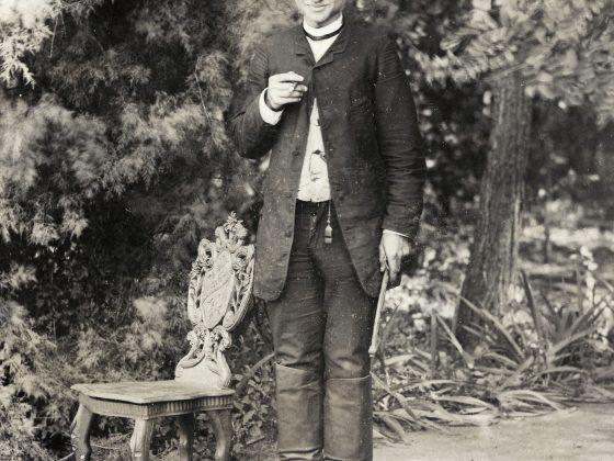 Soter Jaxa-Małachowski w Wolanowie, Wolanów, ok.1890, wł. G. Kudelski (źródło: materiały prasowe organizatora)