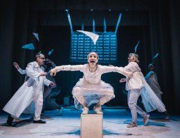 """""""Wodna opowieść"""", Teatr Lalek Pleciuga, fot. Piotr Nykowski (źródło: materiały prasowe organizatora)"""
