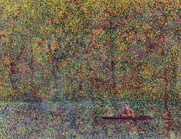 Aleksandar Stankoski, Ostatnia wyprawa, 100 x 70, olej na kartonie, 1992 (źródło: materiały prasowe organizatora)