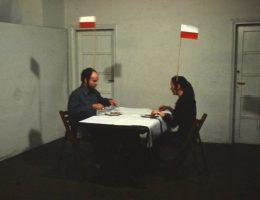6 marca 1984 r., KwieKulik, POLSKI DUET, performance, fot. KwieKulik (źródło: materiały prasowe organizatora)