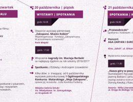 Festiwal im. Macieja Berbeki Inspirowane Górami – program (źródło: materiały prasowe organizatora)