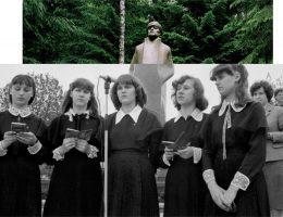 """Indrė Šerpytytė """"Piedestał, Dziewczyny / Pedestal, Girls"""", 2016 (źródło: materiały prasowe organizatora)"""