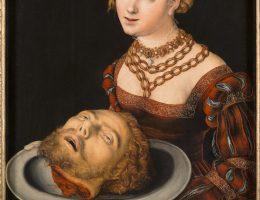 """Lucas Cranach st., """"Salome z głową św. Jana Chrzciciela"""", ok. 1526-1530, Muzeum Sztuk Pięknych w Budapeszcie (źródło: materiały prasowe organizatora)"""