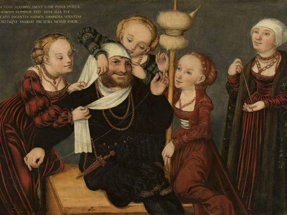 """11. Malarz śląski, """"Alegoria zreformowanego Kościoła"""", 1560-1570, Muzeum Archidiecezjalne we Wrocławiu (źródło: materiały prasowe organizatora)"""