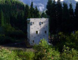 Projekt: Ekobaza w Rezerwacie Przyrody Anzihe, Studio: Architecture Integrity & Innovation Association (źródło: materiały prasowe organizatora)