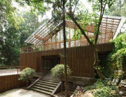 Projekt: Ośrodek Buddyzmu Zen przy świątyni Baoguo-si, Studio: Approach Architecture Studio (źródło: materiały prasowe organizatora)