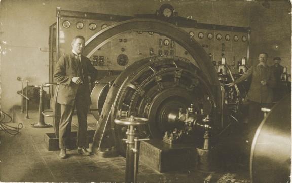 Wnętrze jednej z elektrowni z okresu carskiej Rosji z pocz. XX w. (źródło: materiały prasowe)