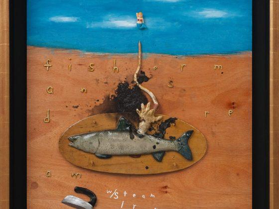 """""""Fisherman's Dream with Steam Iron"""", 2012, Copyright: David Lynch (źródło: materiały prasowe organizatora)"""