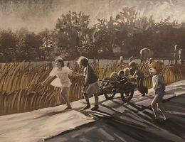 """Małgorzata Futkowska, """"Terytoria Pamięci"""", Miejska Galeria Sztuki w Częstochowie (źródło: materiały prasowe organizatora)"""