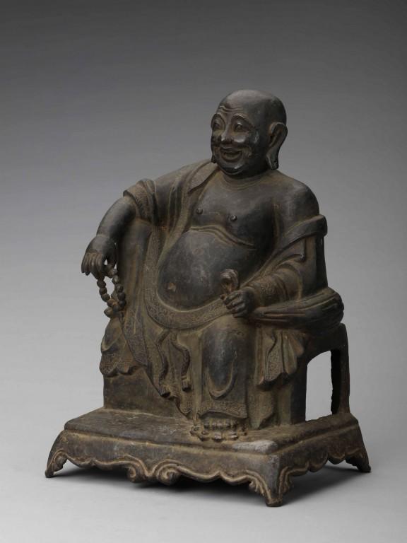 Maitreja, dynastia Ming (1368–1644); brąz, odlew (źródło: materiały prasowe organizatora)