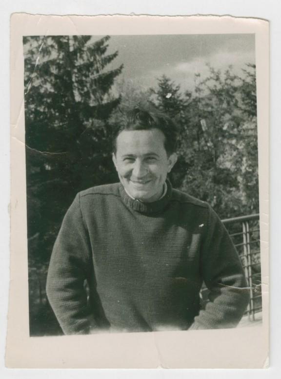 Tadeusz Różewicz w górach, z archiwum poety w zbiorach ZNiO (źródło: materiały prasowe organizatora)