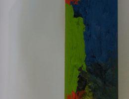 Piotr Korol, drewno, olej, emalia (źródło: materiały prasowe organizatora)