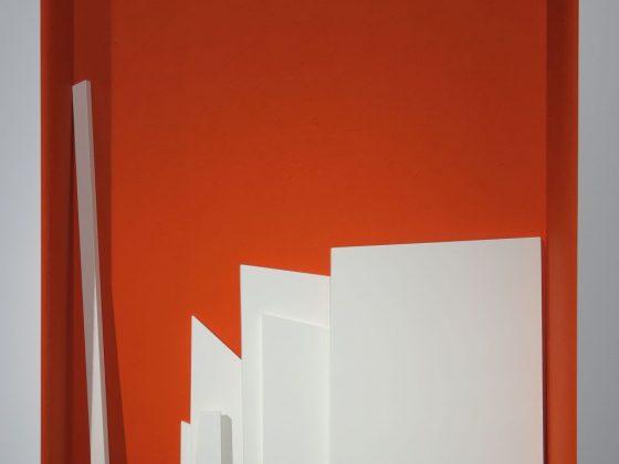Piotr Korol, drewno, akryl, pigment (źródło: materiały prasowe organizatora)