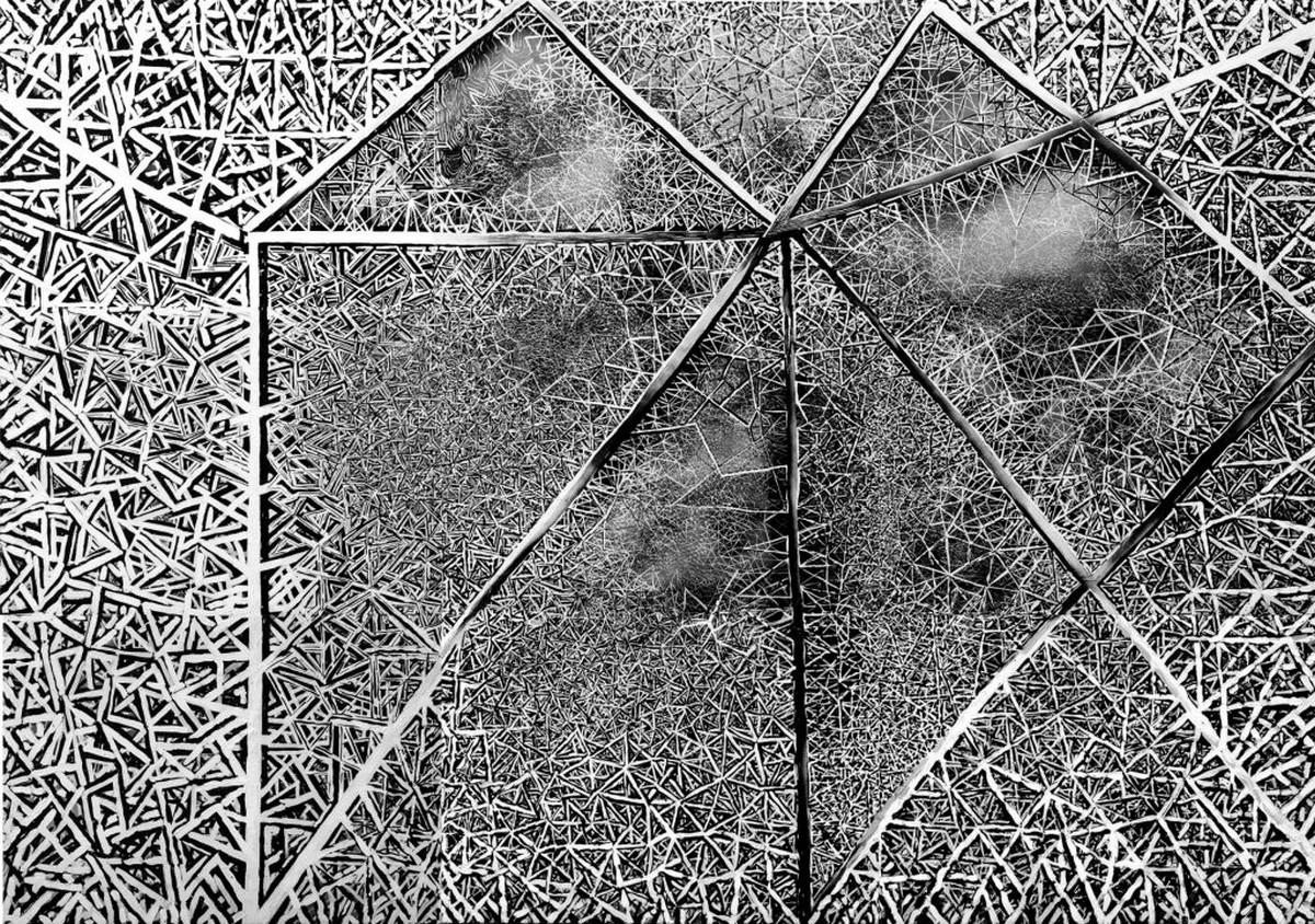 """Witold Liszkowski, """"Struktury osobiste"""", 2001 (źródło: materiały prasowe organizatora)"""