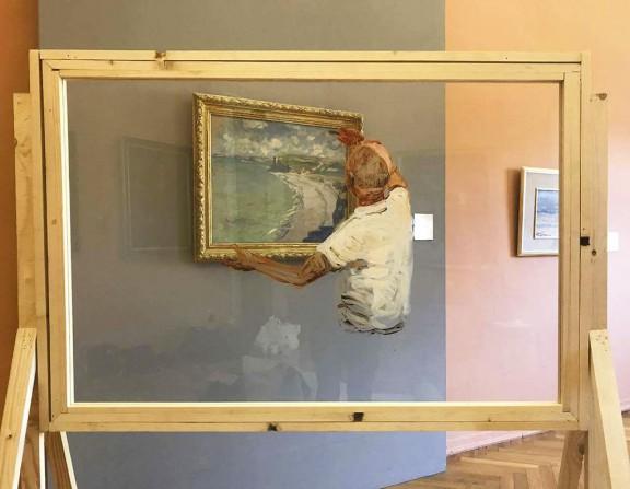 """Amir Yatziv, Guy Slabbinck, """"Standby Painter"""" (źródło: materiały prasowe organizatora)"""