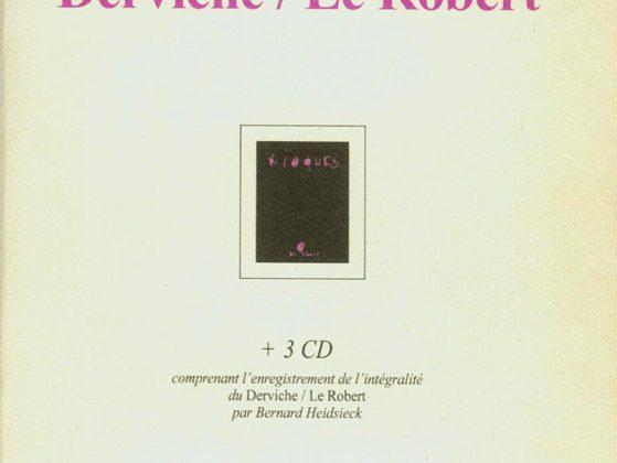 "Bernard Heidsieck, książka ""Derviche Le Robert"" (źródło: materiały prasowe organizatora)"