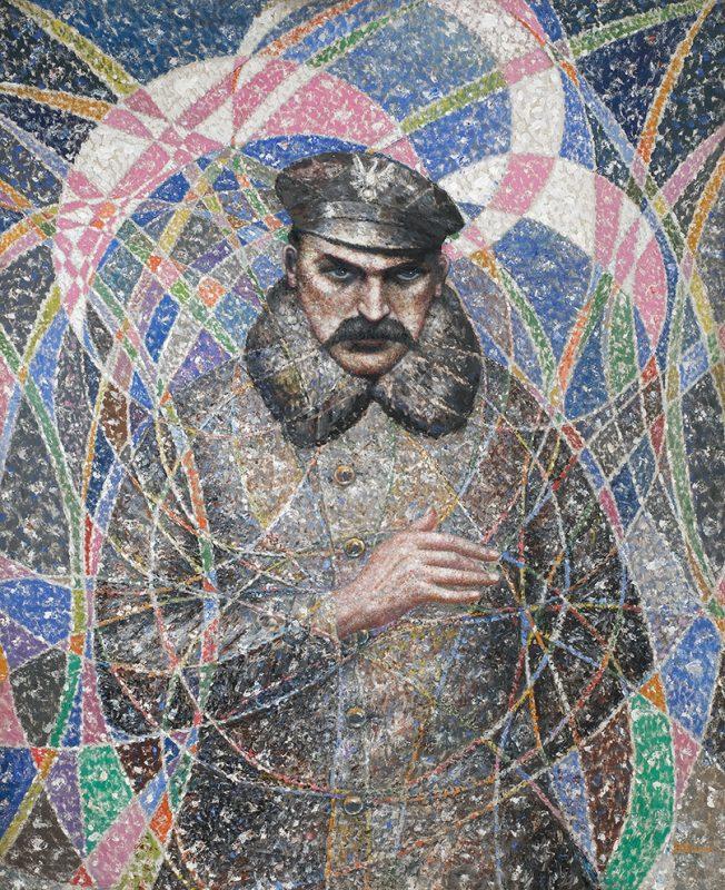 """Bolesław Biegas, """"Józef Piłsudski"""", 1945/1946, olej na płótnie, 91 x 73 cm, fot. Muzeum im. Bolesława Biegasa w Warszawie (źródło: materiały prasowe)"""