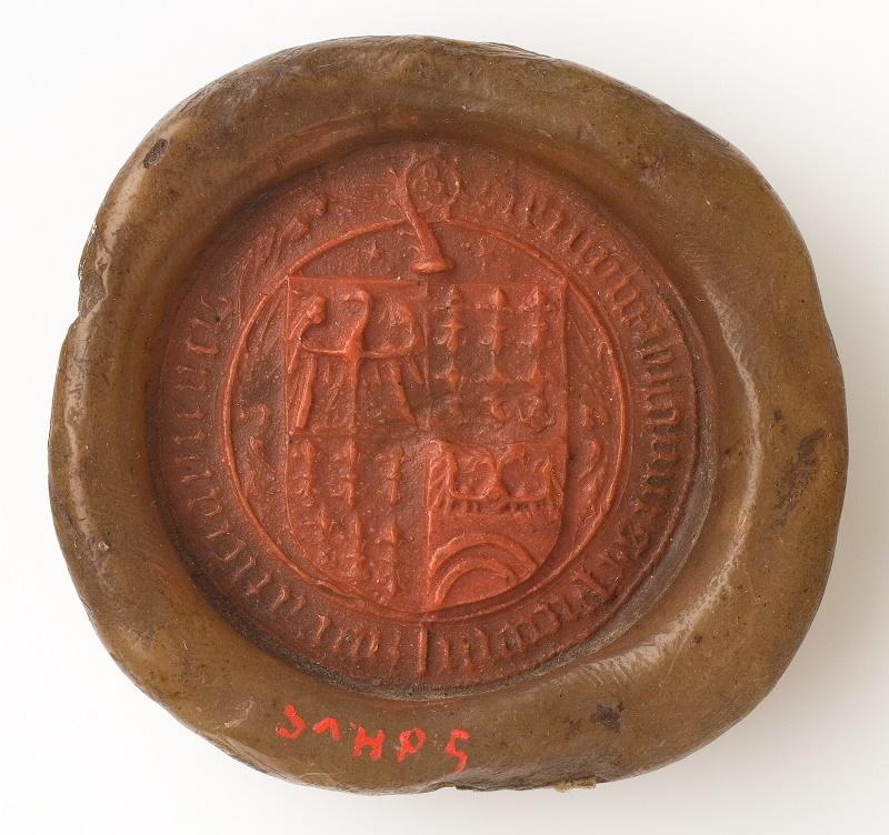 Pieczęć herbowa biskupa wrocławskiego Johanna IV Rotha, 1482–1506 (źródło: materiały prasowe organizatora)