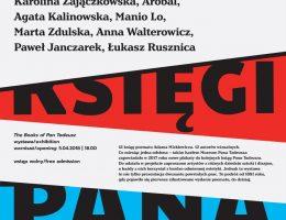 """Plakat wystawy """"Księgi Pana Tadeusza"""" (źródło: materiały prasowe organizatora)"""