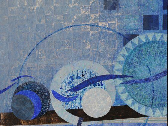 """Małgorzata Maćkowiak, """"Źródło"""", tryptyk I, 2012 (źródło: materiały prasowe organizatora)"""